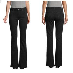 7 For All Mankind | Black Bootcut Jeans 28